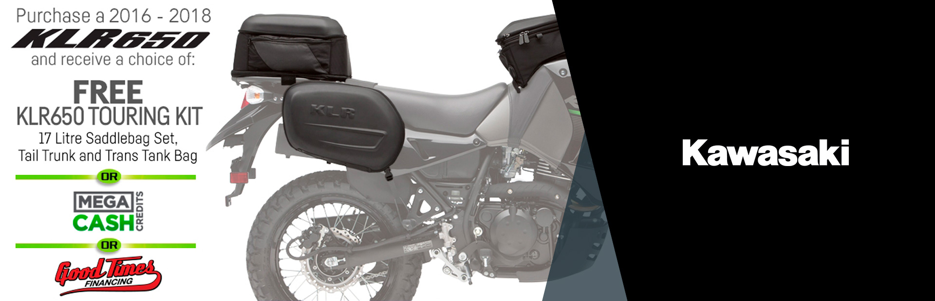 Kawasaki: KLR650 Free Accessories