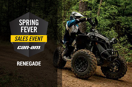 Spring Fever Sales Event (Renegade)