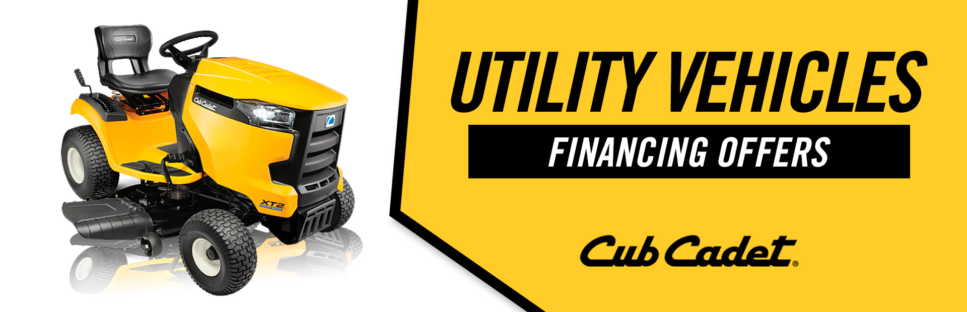Cub Cadet: Utility Vehicles Financing Offers