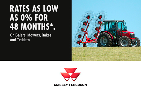 0% for 48 Months on Balers, Mowers, Rakes, Tedders