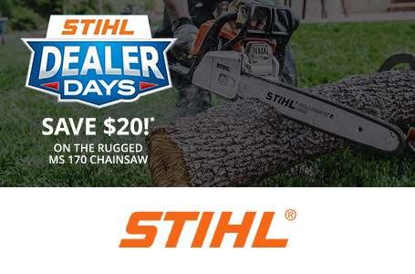 STIHL Dealer Days Are Happening Now! - Chainsaw
