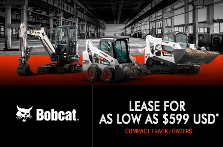 Lease Compact Track Loaders For As Low As $999 USD