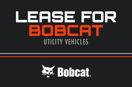 Lease for Bobcat Utility Vehicles