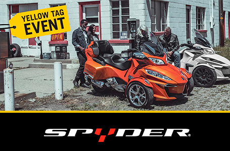 Yellow Tag Event - Spyder