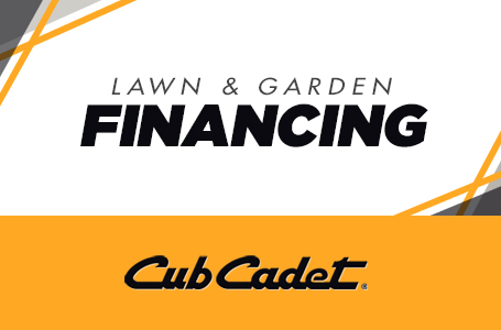Lawn and Garden Financing