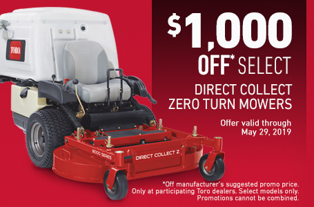 $1000 Off Select ZMaster8000 Mowers