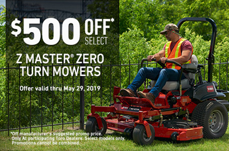 $500 Off Select ZMaster7000 Mowers