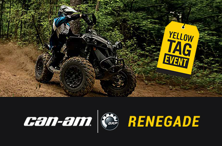 Yellow Tag Event - RENEGADE