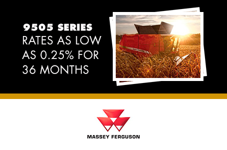 9505 Series - Rates as low as 0.25% for 36 Months