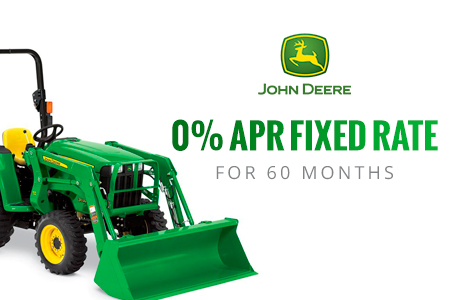 0% APR fixed rate for 60 Months