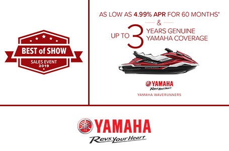 Best of Show - As Low As 4.99% APR For 60 Months