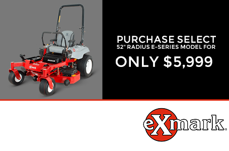 Purchase Select 52'' Radius E-Series Model $5,999