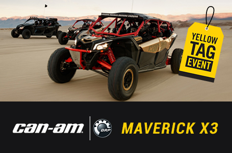 Yellow Tag Event - MAVERICK X3