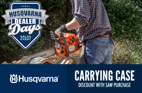 Carrying Case Discount With Saw Purchase
