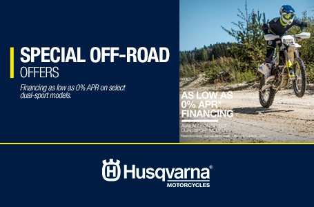 SPECIAL OFF-ROAD OFFERS