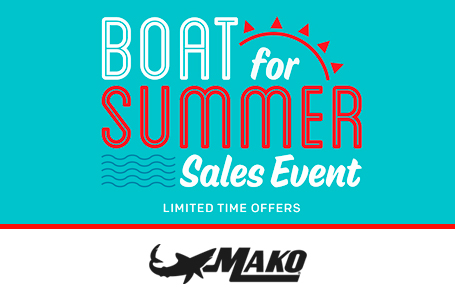 Boat For Summer Sales Event