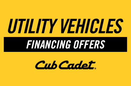 Utility Vehicles Financing Offers