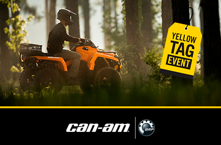 Yellow Tag Event - Outlander Rebates