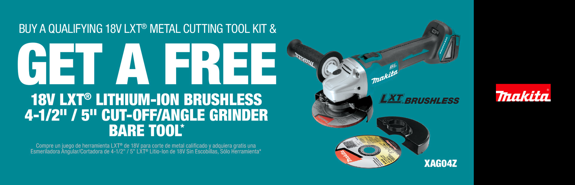 Makita: BUY A QUALIFYING 18V LXT® METAL CUTTING TOOL KIT