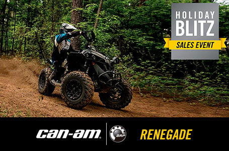 Holiday Blitz Sales Event - RENEGADE