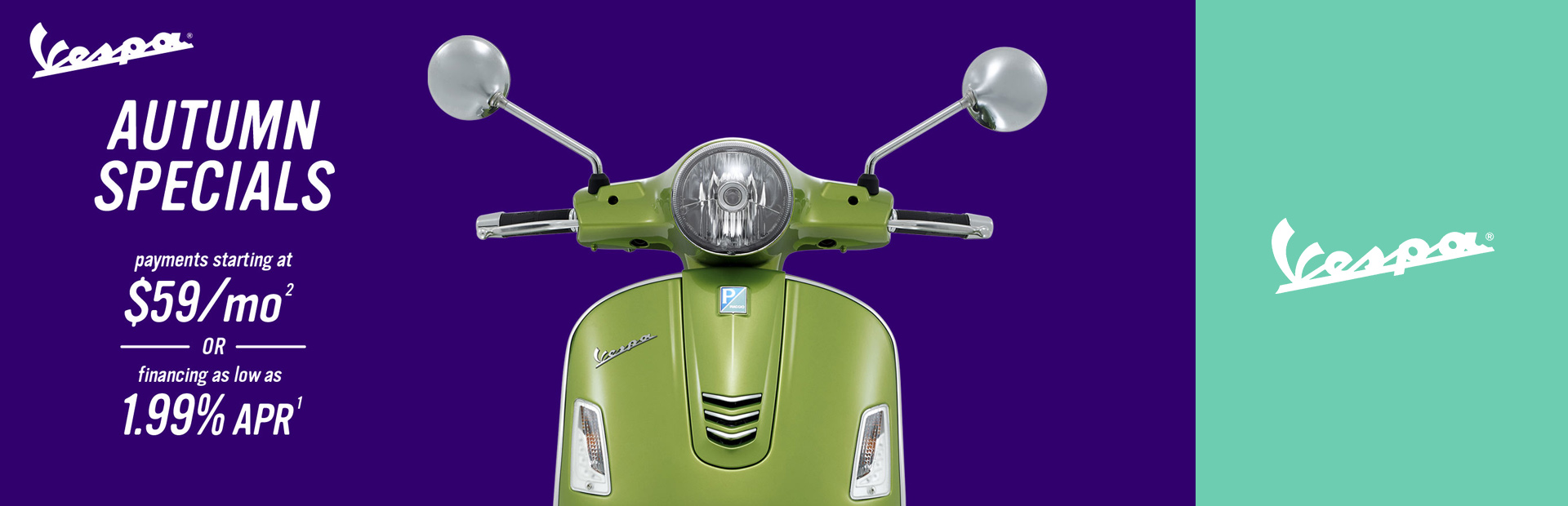 Vespa: Autumn Specials