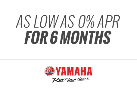 As Low as 0% APR For 6 Months