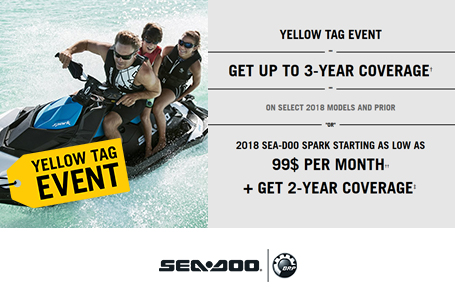 Yellow Tag Event - Sea-Doo Spark