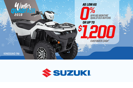 Suzuki Winter QuadFair 2018