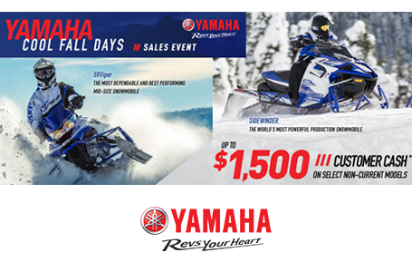 Customer Cash (Snowmobiles)