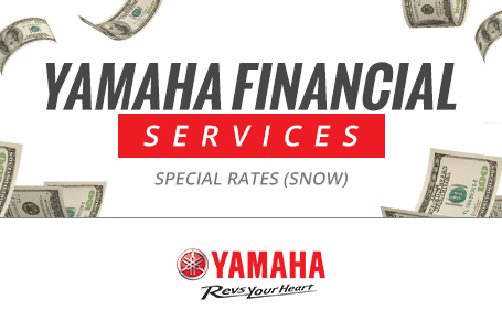 Yamaha Financial Services - Special Rates (Snow)