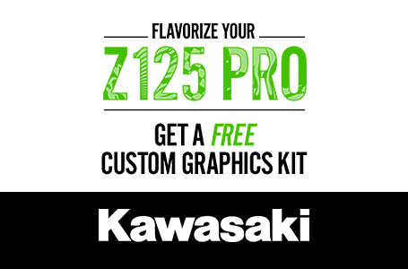 Flavorize Your Z125 Pro - Free Custom Graphics Kit