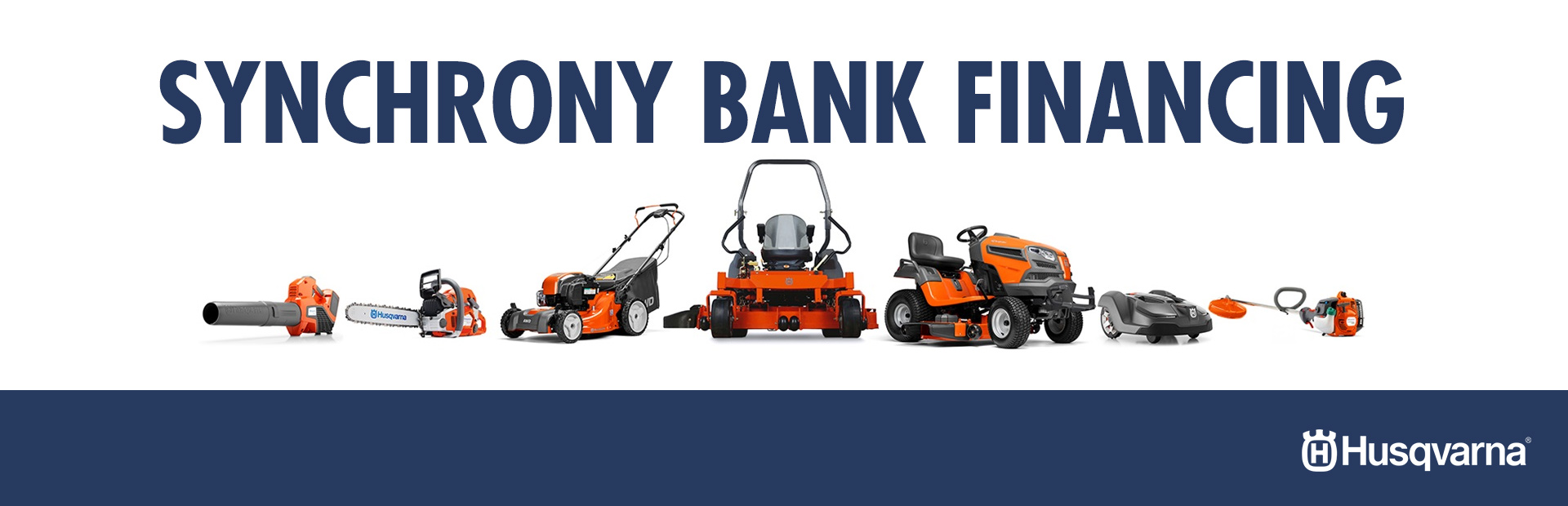 Husqvarna: Synchrony Bank Financing Offers