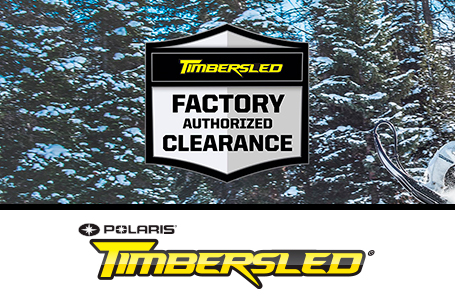 FACTORY AUTHORIZED CLEARANCE