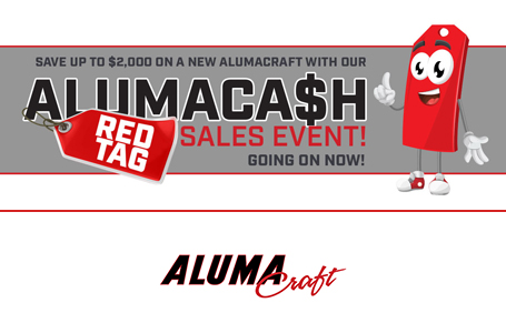 AlumaCa$h Red Tag Sales Event
