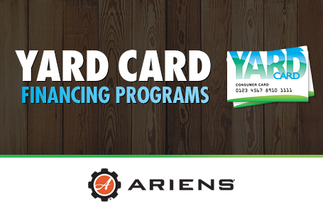 Ariens – Yard Card Financing Programs