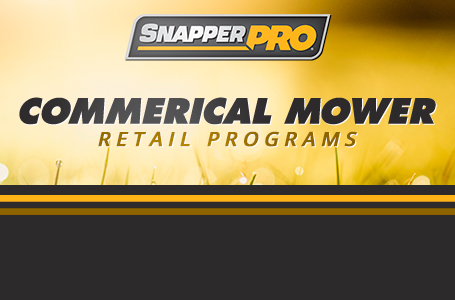 Commercial Mower Retail Programs