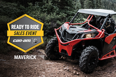 Ready to Ride Sales Event - MAVERICK