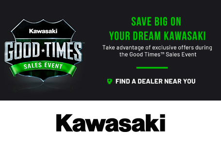 Kawasaki Good Times™ Sales Event