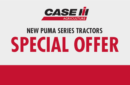 New Puma Series Tractors Special Offer