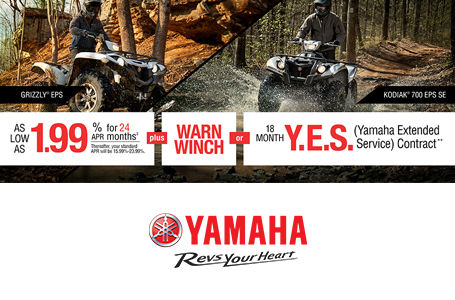 Free Warn® Winch -or- 18 Month Y.E.S. Contract