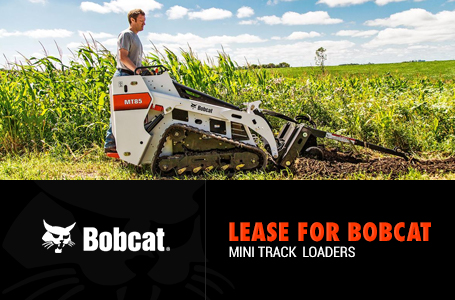 Lease for Bobcat Mini Track Loaders