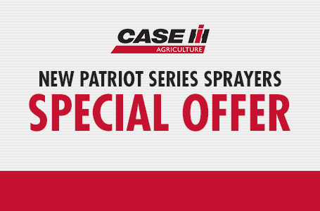 New Patriot Series Sprayers Special Offer