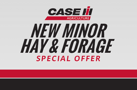New Minor Hay & Forage Special Offer