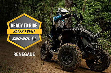 Ready to Ride Sales Event - RENEGADE