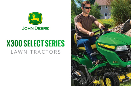 X300 Select Series™ Lawn Tractors