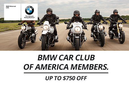 BMW Car Club of America Members Up To $750 Off