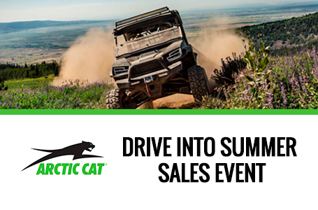 DRIVE INTO SUMMER SALES EVENT