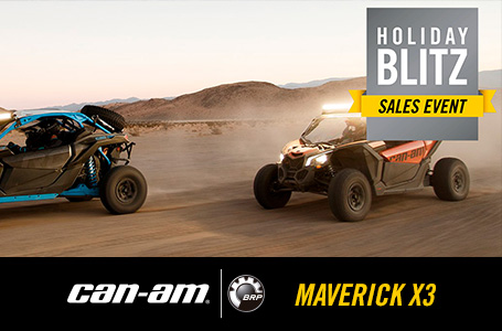 Holiday Blitz Sales Event - MAVERICK X3