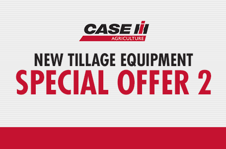 New Tillage Equipment Special Offer 2