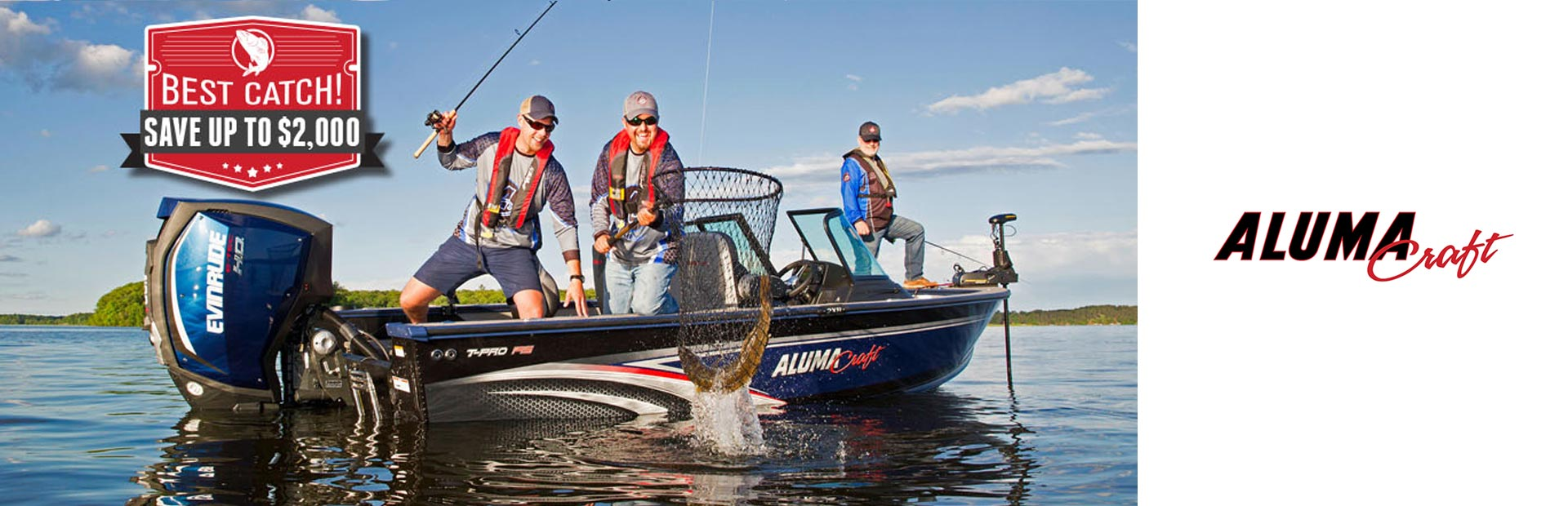 Alumacraft: Best Catch! Save Up To $2,000